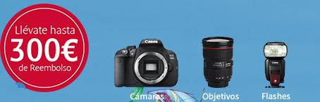 300 € descuento Canon 2017