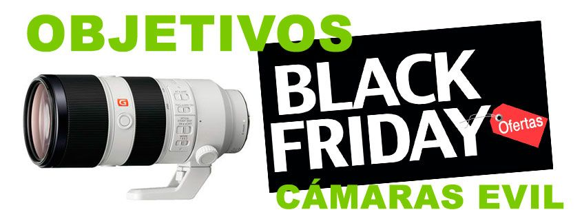 Mejores ofertas objetivos Black Friday
