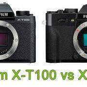 Comparativa Fujifilm X-T100 vs X-T20