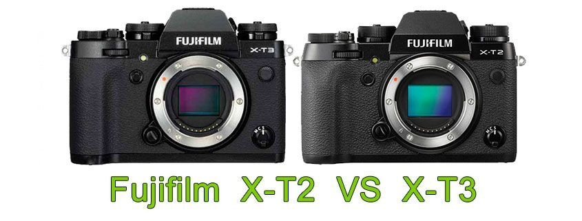 Comparativa Fujifilm X-T2 vs X-T3
