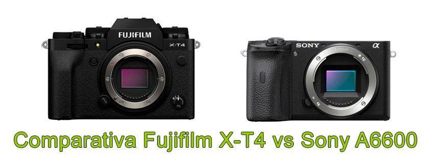 Fujifilm X-T4 vs Sony A6600