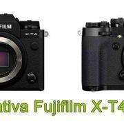 Fujifilm X-T4 vs X-T3