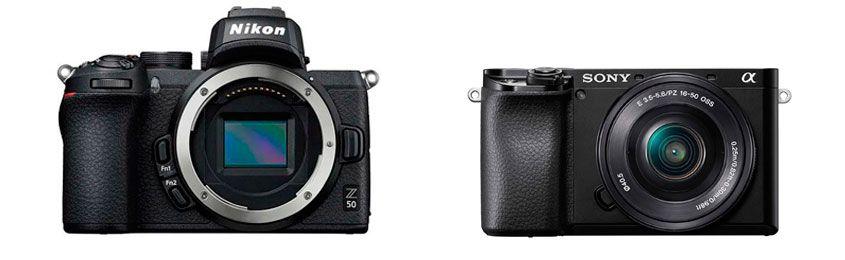 Nikon Z50 vs Sony Alpha a6100