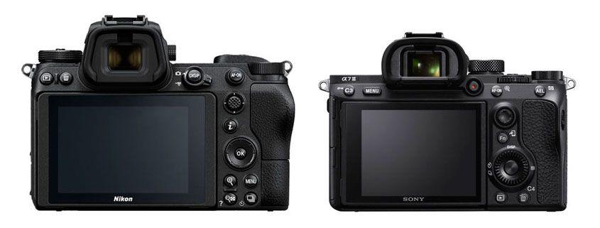 Comparativa Nikon Z6 Sony A7 III