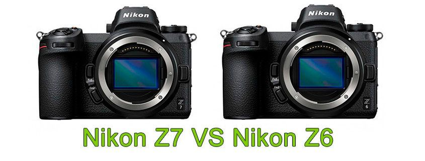 Comparativa Nikon Z7 vs Nikon Z6