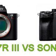 Sony A7R III vs A7R IV