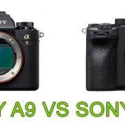 Comparativa Sony A9 Sony A9II