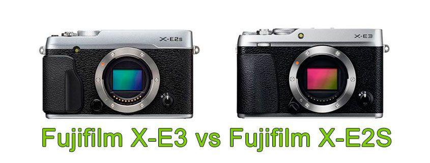 Comparativa Cámara EVIL X-E3 vs Cámara EVIL X-E2S