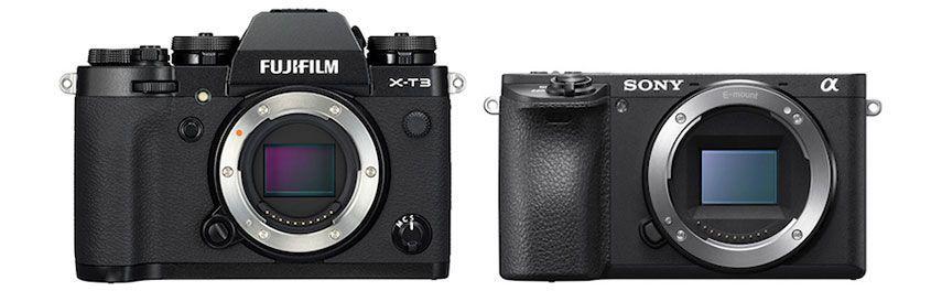 Fujifilm X-T3 y Sony a6500