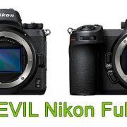 Cámara EVIL Nikon Full Frame