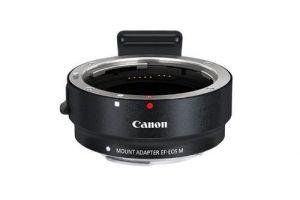 Adaptador montura Canon EF-EOS M