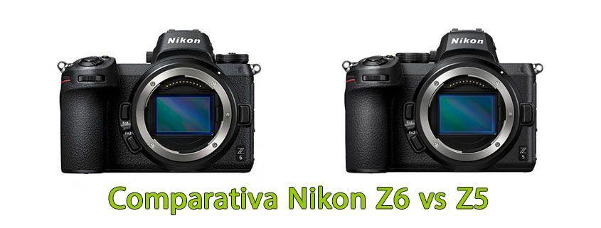 Comparativa Nikon Z6 vs Z5