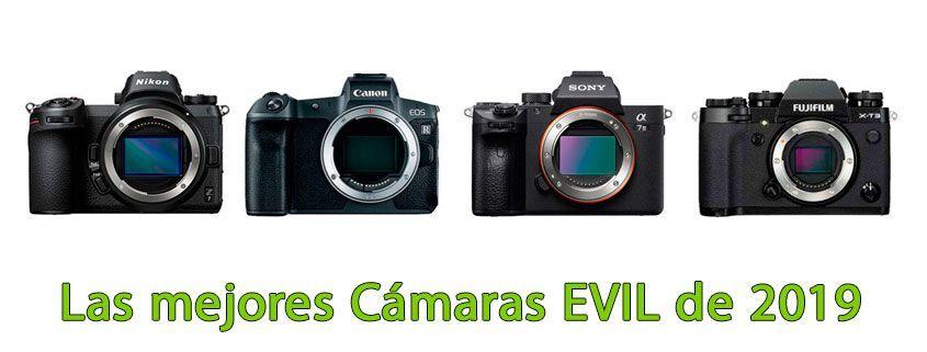 Las mejores cámaras EVIL de 2019