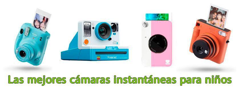 Las mejores cámaras instantáneas para niños