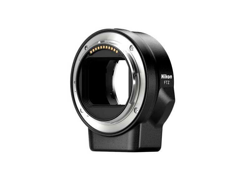 adaptador Nikon FTZ