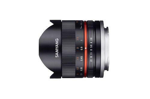 Samyang 8mm f/2.8 ED AS IF UMC Fish-eye