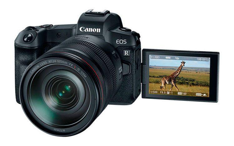 Pantalla Canon EOS R