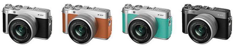 Colores Fujifilm X-A7