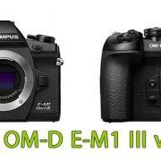 Comparativa Olympus OM-D E-M1 III vs E-M1 II