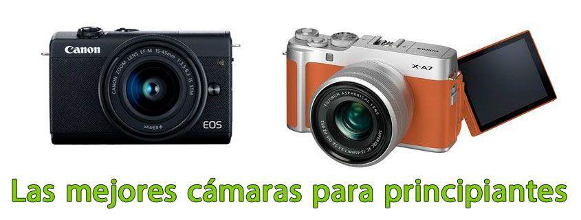 Las mejores cámaras para principiantes