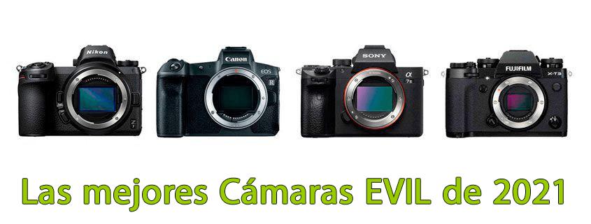 Las mejores cámaras EVIL de 2021