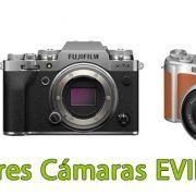 Las mejores cámaras Evil Fujifilm