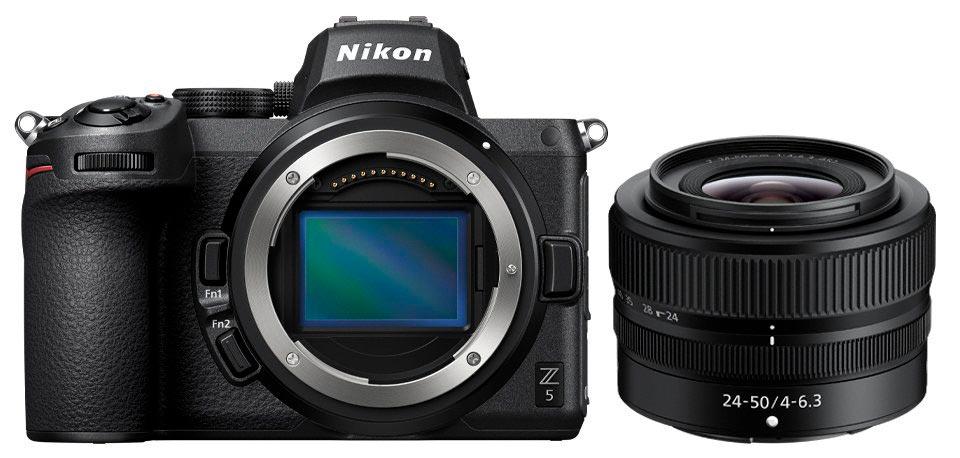 Nikon Z5 y 24-50 mm f4-6.3