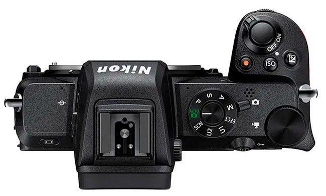 Botones Nikon z50