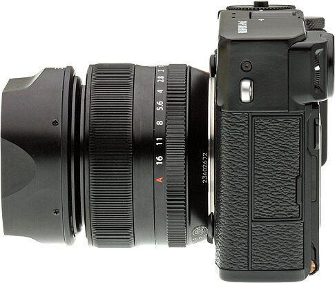 Objetivo Fujifilm X-Pro3