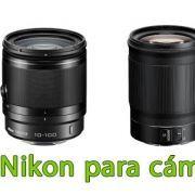Objetivos Nikon para Cáceras Evil