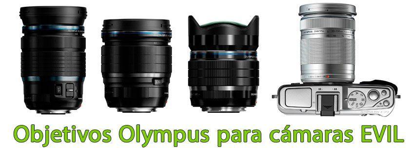 Objetivos Olympus para cámaras EVIL