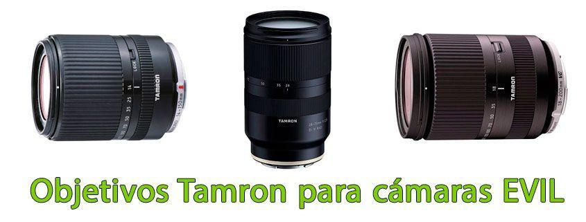 Objetivos Tamron para cámaras EVIL