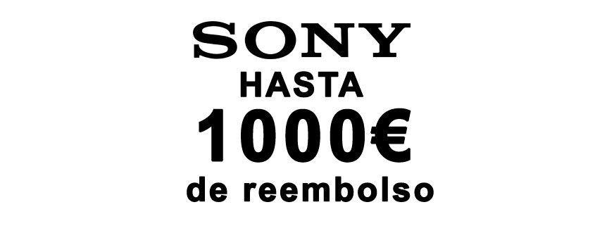 reembolso 1000 € Sony