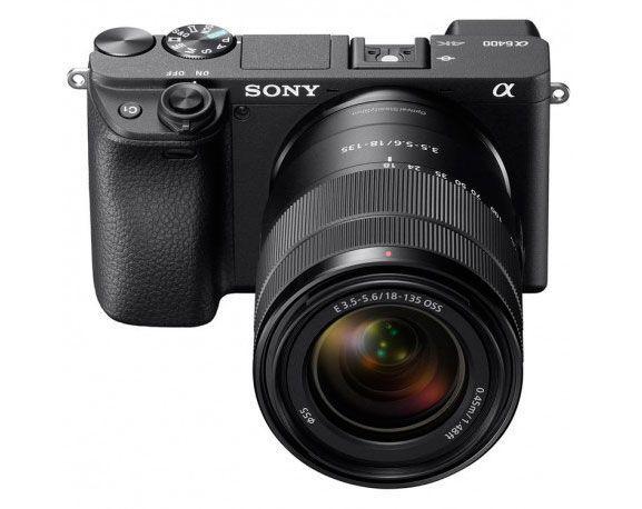 Sony A6400 con objetivo 16-50