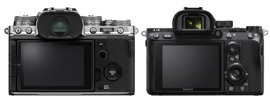 Fujifilm X-T4 vs Sony A7 III