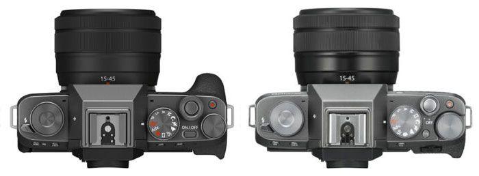 Fujifilm X-T200 vs X-T100 botones