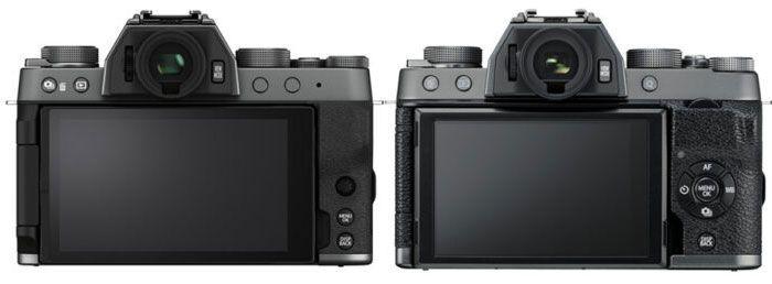 FUJIFILM X-T200 VS X-T100 Pantalla